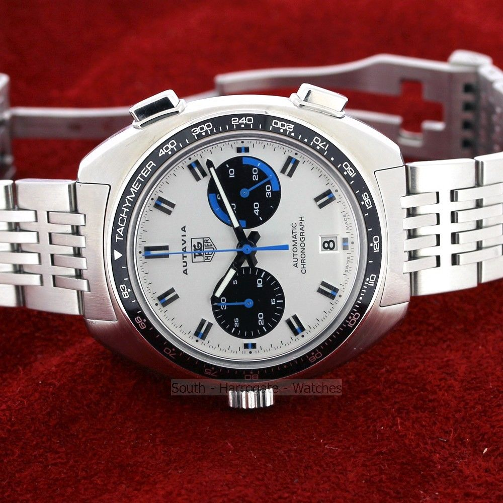 TAG HEUER Autavia Re Issue c 2010 Nr Mint Condition
