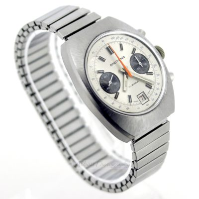 Breitling Valjoux 7734 Mechanical Chronograph watch 1969 - serviced