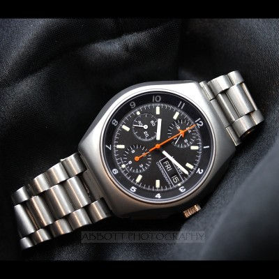 Lemania Chronograph Pilots Watch 5100