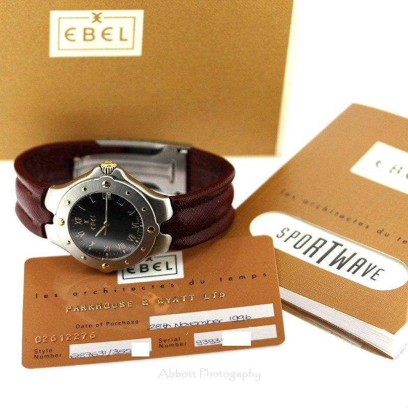 EBEL SportWave 1996 E6187631 Watch
