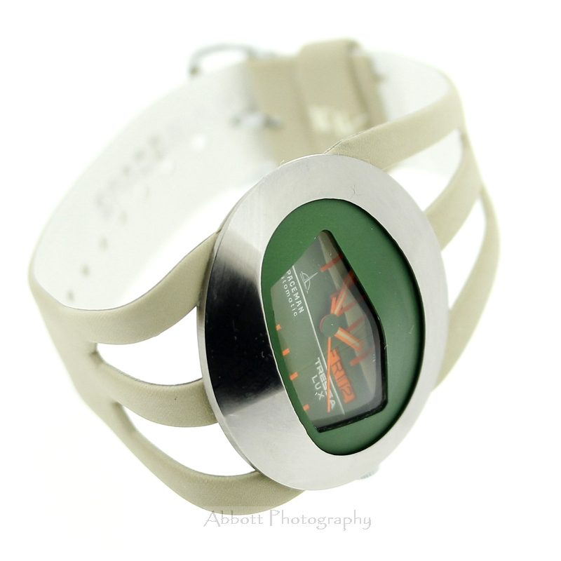Tressa Lux Spaceman 70s Retro Watch Green
