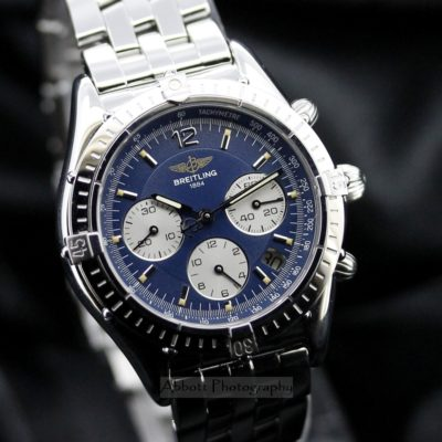 BREITLING A30012 Chronomat Cockpit Automatic w Box Papers 1996 Rare
