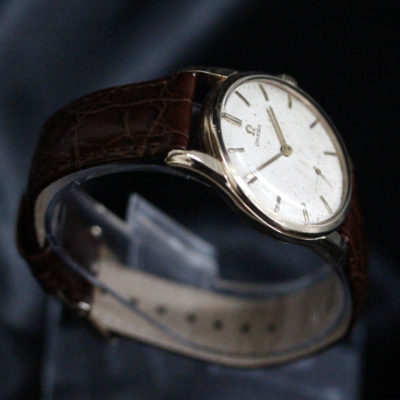 Omega 9ct gold vintage watch
