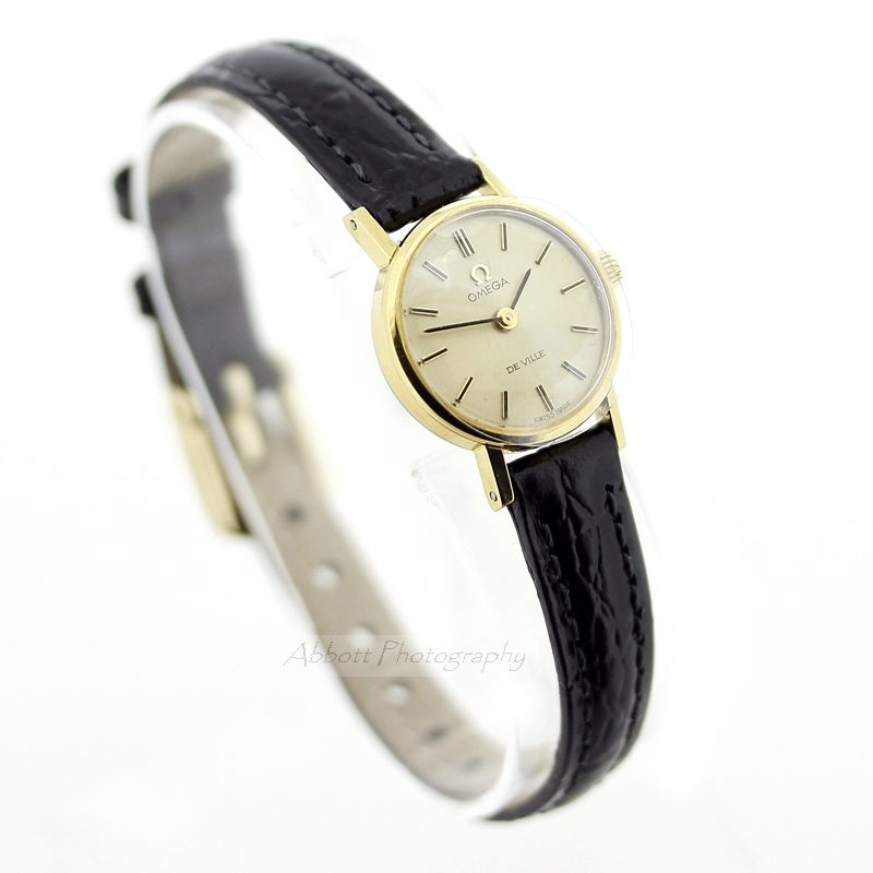 Omega De Ville Gold Plated ladies vintage watch