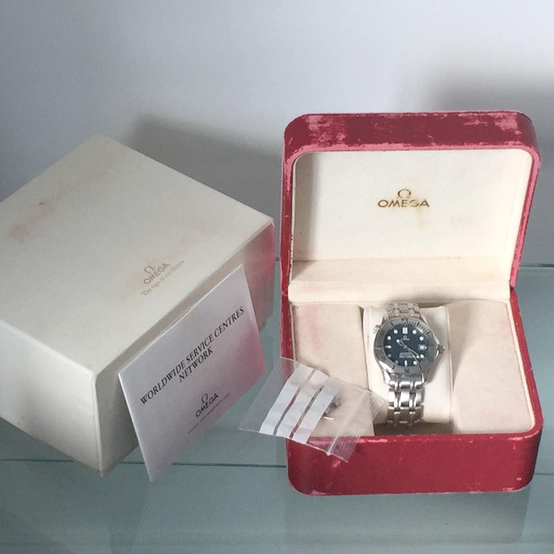 OMEGA Seamaster 300M Mid Size Unisex 36mm 2562.80.00 Quartz Watch 1998