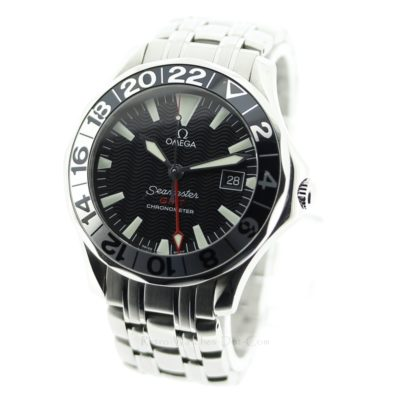 OMEGA Seamaster GMT 300M 2234 50 Automatic Mens Watch : Black Dial 50th Anniv. Edition