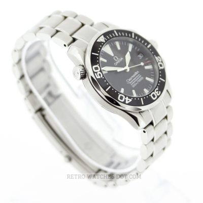 OMEGA Seamaster Automatic 300M Black Dial Watch Mid Size 36mm 22525000 BP 2008