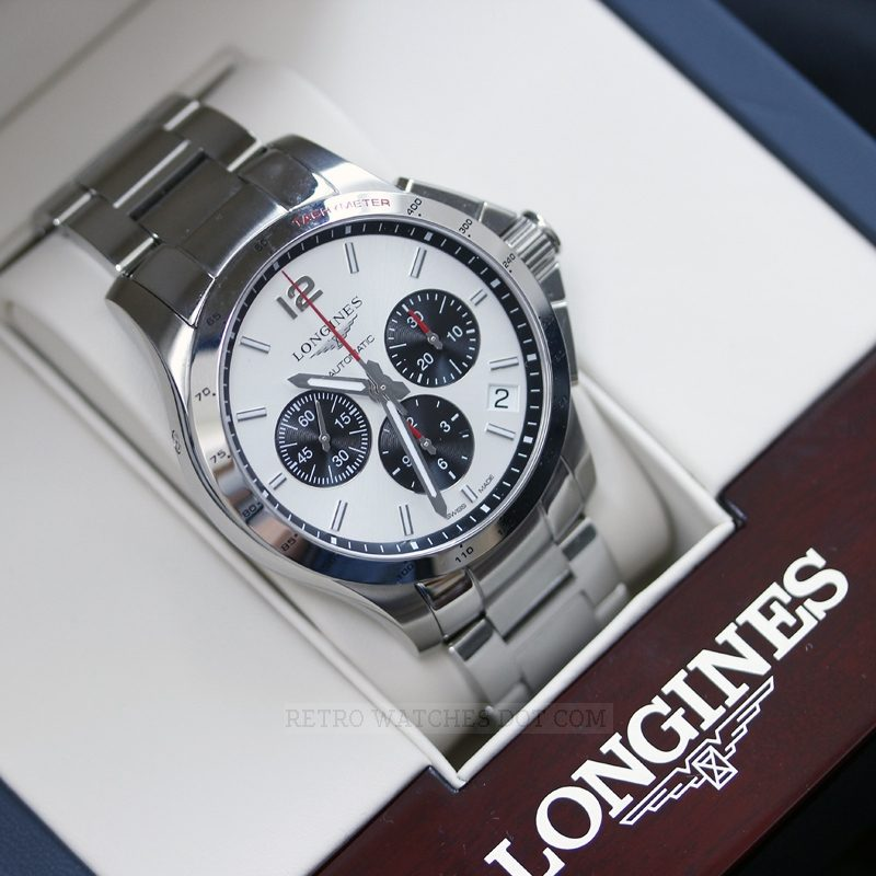 LONGINES Conquest Automatic Chronograph Mens Watch L36974066