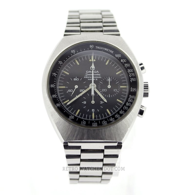 OMEGA Speedmaster Mark II 145.014 Mechanical Chronograph Vintage Retro Watch 1975 861