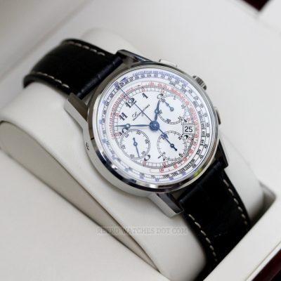 LONGINES Heritage Tachymeter Automatic Chronograph Watch L27814 2013