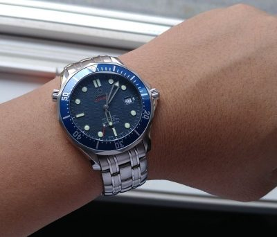 OMEGA Seamaster 300 Blue Wave Dial Watch