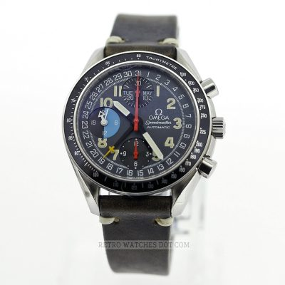 OMEGA Speedmaster Mark 40 AM PM Automatic Chronograph Reduced 39mm Size 90s Watch