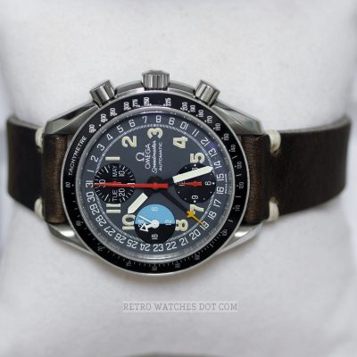 OMEGA Speedmaster Mark 40 Automatic Chronograph Reduced 39mm Size 90s Watch
