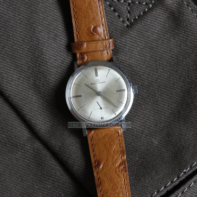 MOVADO Sub Sea Hand Winding Mechanical Swiss Vintage Watch - Serviced