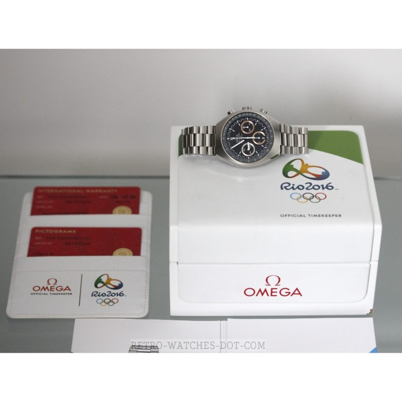 OMEGA Speedmaster Limited Edition Rio Olympic Watch 2016