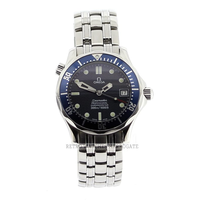OMEGA Seamaster Mid Size Blue Watch 2551 80 00