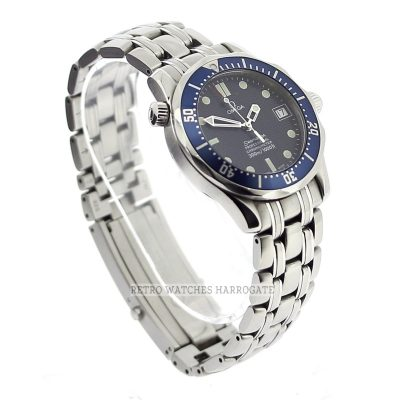 OMEGA Seamaster Automatic Chronometer 300M Mid Size Blue Watch 2551 80 00