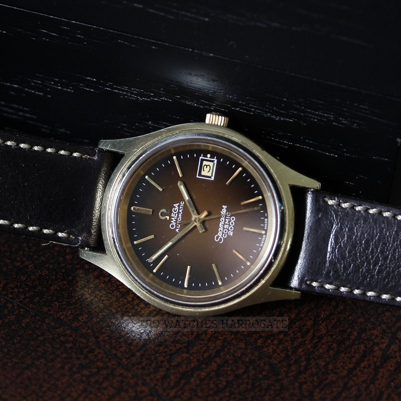 OMEGA COSMIC 2000 1012 Swiss Automatic Vintage Retro Watch - 1971 166.128