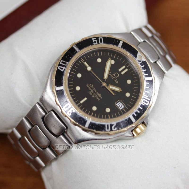 OMEGA Seamaster 200M Quartz Rare Retro Watch
