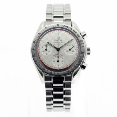 OMEGA Speedmaster Michael Schumacher 39mm Racing Watch White 3517.30